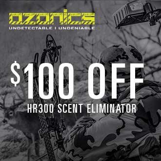 $100 Off Ozonics HR300