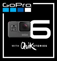 New GoPro Hero6 with Quik Stories