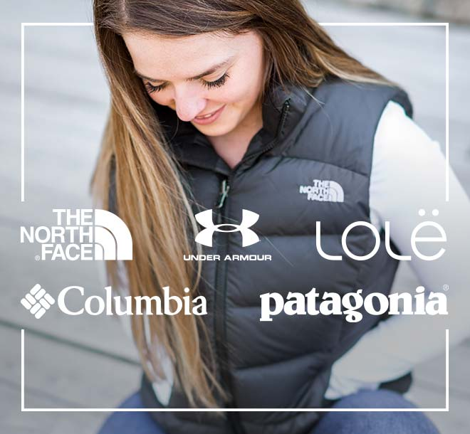 Vests from The North Face, Under Armour, Lolë, Columbia, Patagonia and More!