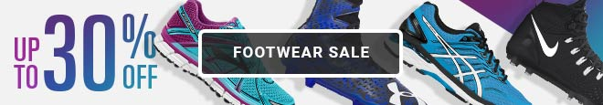 Footwear Sale - Up To 30% Off