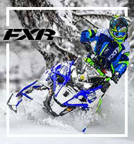 FXR Snowmobile and Winter Gear