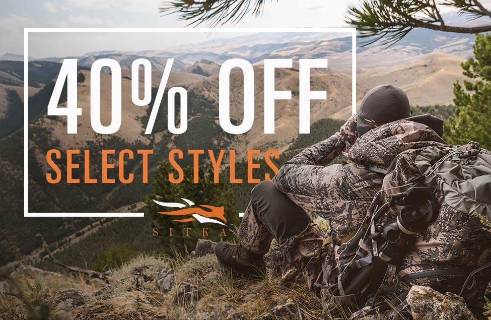 40% Off Select Sitka