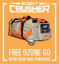Scent Crusher BOGO | Free Ozone Go with Gear Bag Purchase