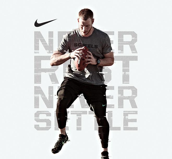 NIKE | Never Rest Never Settle | Carson Wentz, SCHEELS Athlete
