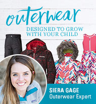 Outerwear Designed to Grow with Your Child