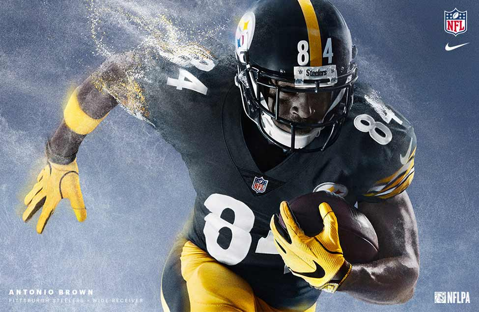 Antonio Brown | Pittsburgh Steelers Wide Receiver | NFL + Nike