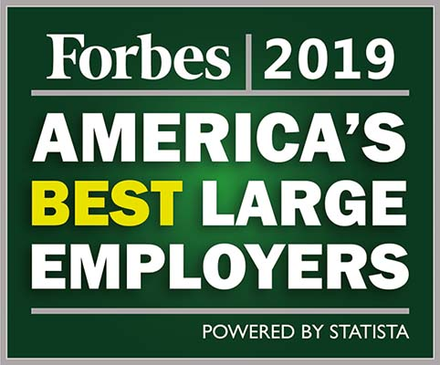 Forbes 2019 - America's best large employers