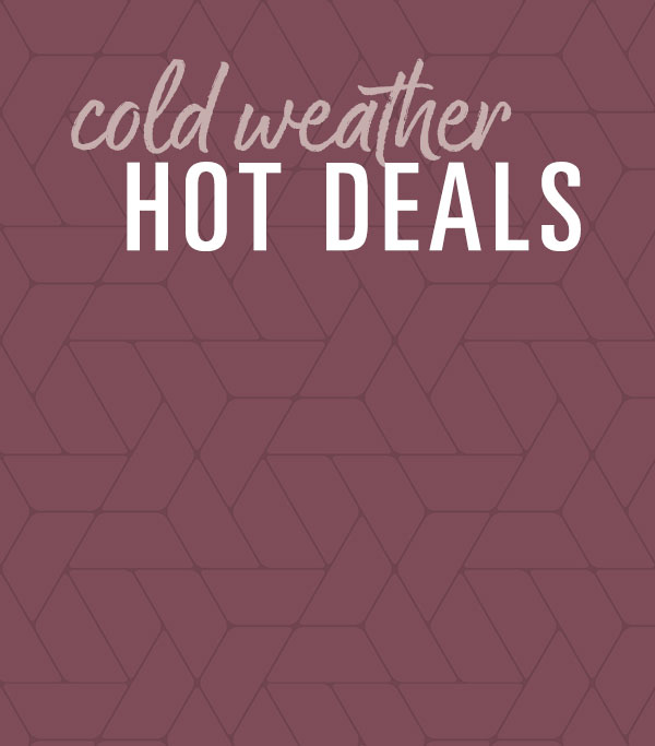 Cold Weather Sale
