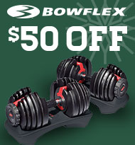 BowFlex Weight Select Tech weight Set $50 Off