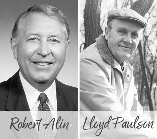 Robert Alin and Lloyd Paulson