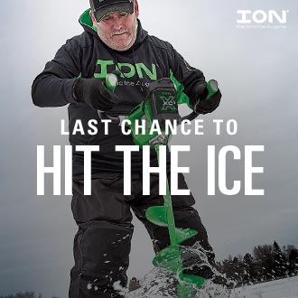Last Chance to Hit the Ice | Image by ION Electric Augers