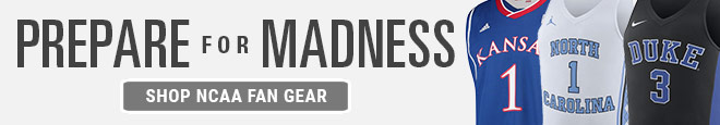 Prepare for Madness | Shop NCAA Fan Gear