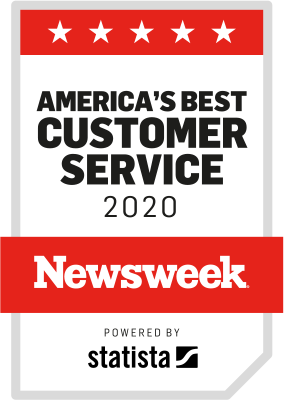 Newsweek 2020 - America's best customer service