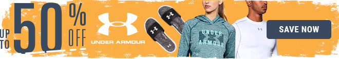 Up To 50% Off Under Armour, Save Now