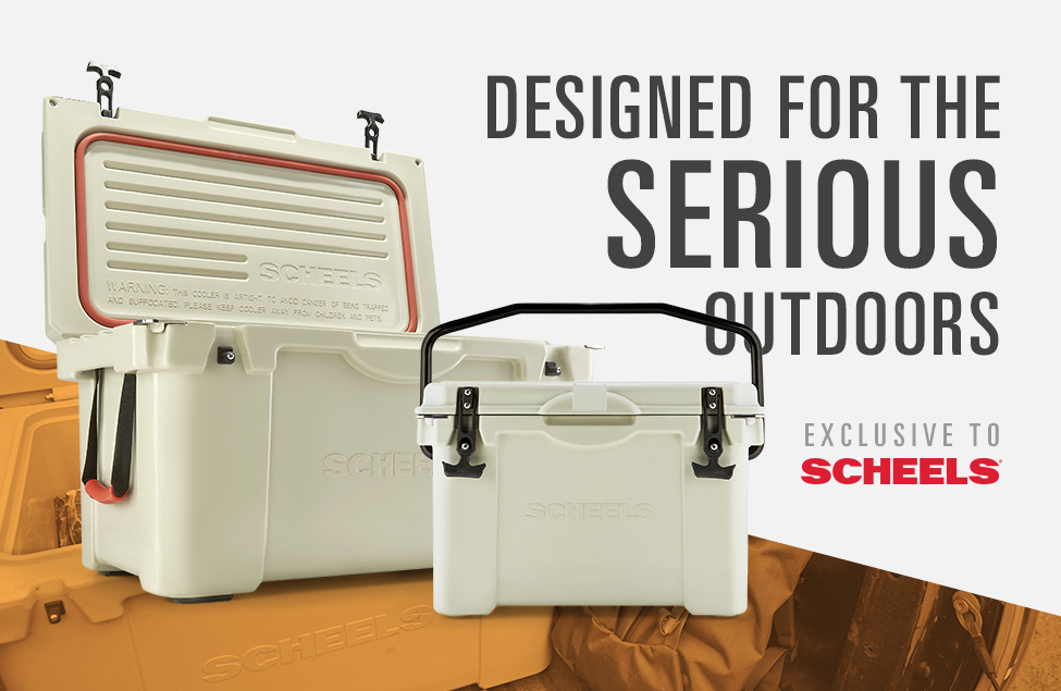 Designed for the Serious Outdoors, Coolers Exclusive to SCHEELS