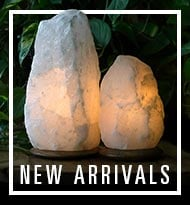 New Arrivals - Salt Lamps & More