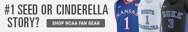 #1 Seed or Cinderella Story? | Shop NCAA Fan Gear