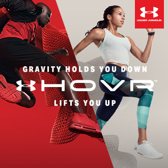 Gravity Holds You Down, Under Armour HOVR Lifts You Up