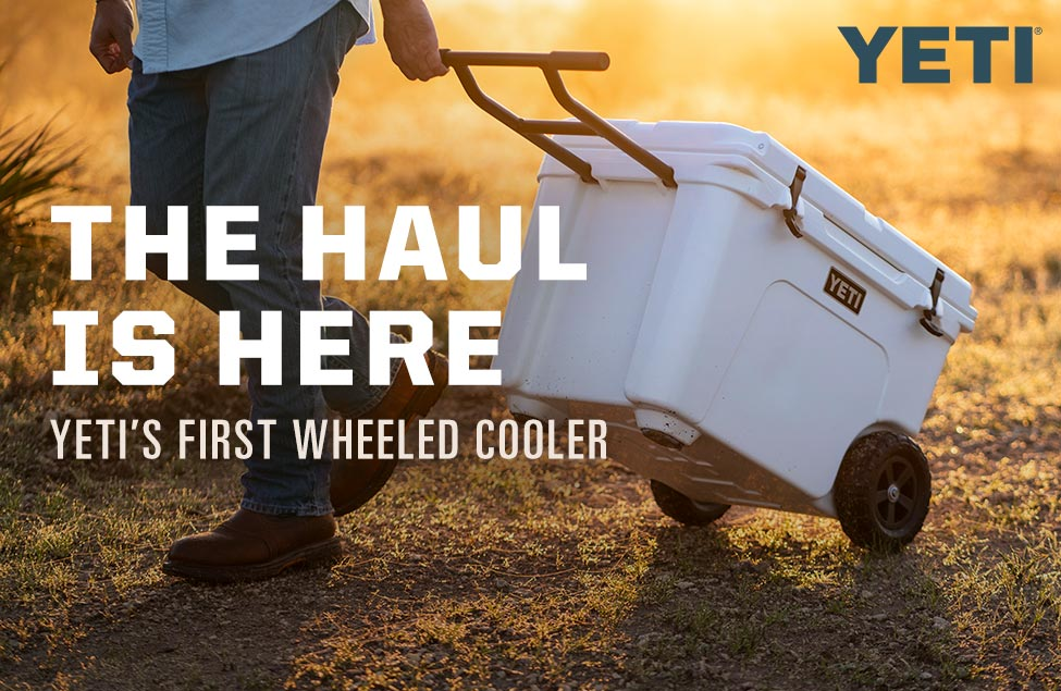 The Haul Is Here, Yeti's First Wheeled Cooler