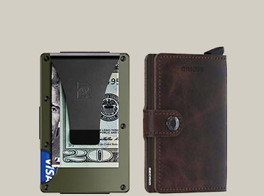 Wallets and moneyclips