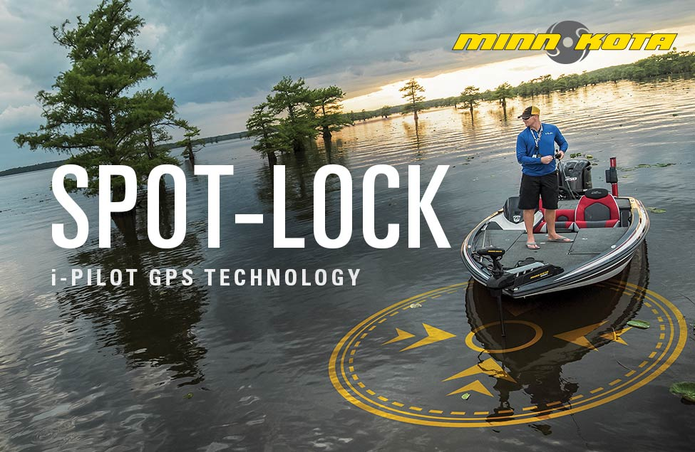 Minn Kota Spot-Lock iPilot GPS Technology