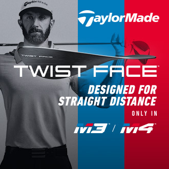 TaylorMade Twist Face, Designed for Straight Distance, Only In M3 / M4 Golf Clubs