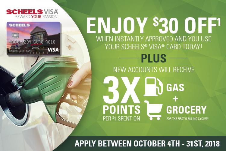 Visa $30 Promotion