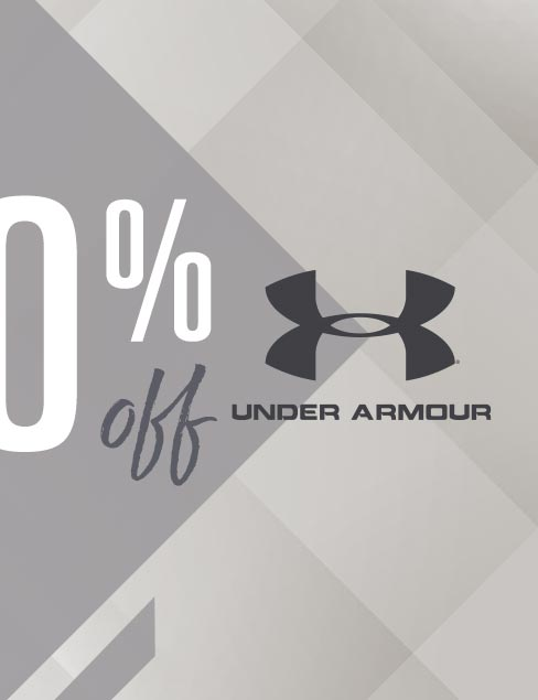 Up To 30% Off Under Armour