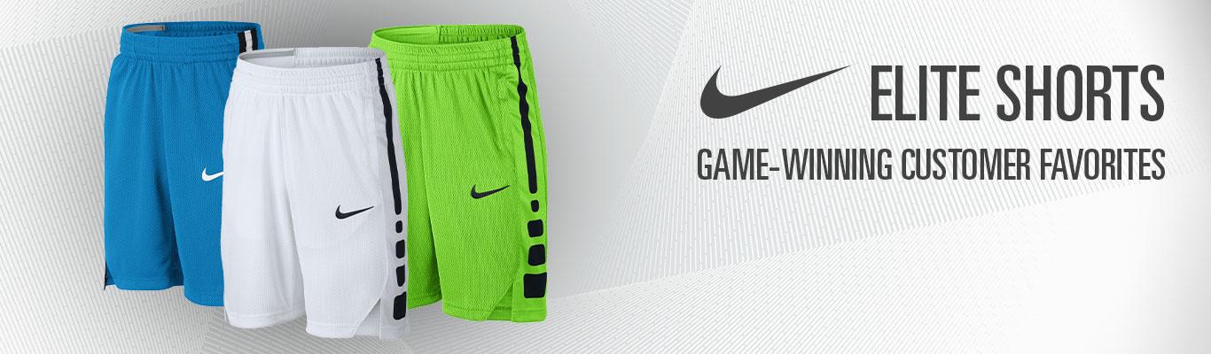 Nike Elite Youth Shorts Header