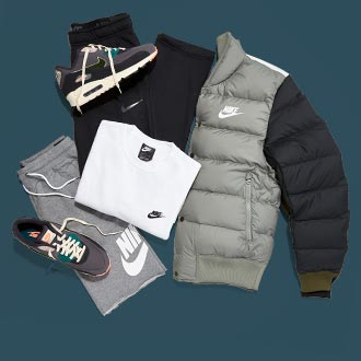 Sportswear and athletic shoes