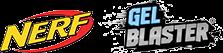 Gel Blaster and Nerf logos