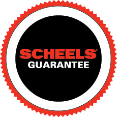 Scheels guarantee badge