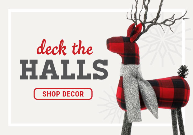 Deck The Halls, Shop Decor