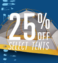 Save up to 25% on Select Tents