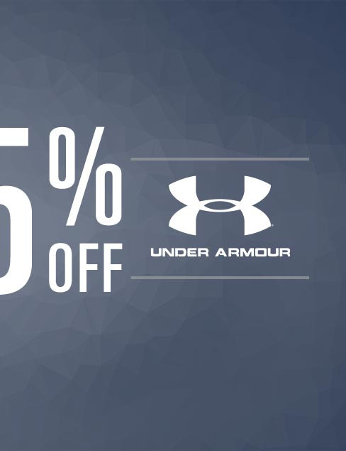 Up To 25% Off Under Armour