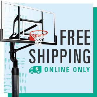 Free Shipping Online Only, Goalsetter Basketball Hoop System