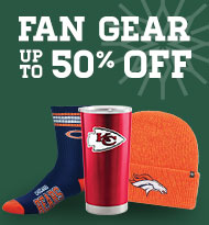 Fan Gear up to 50% off
