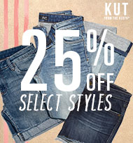Save 25% on Select Styles