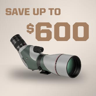 Save Up to $600 On Optics
