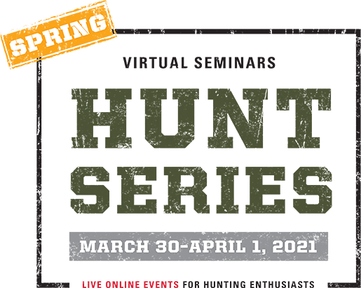 SCHEELS Virtual Seminars Spring Hunt Series: Online Events for Hunting Enthusiasts, March 30th through April 1st