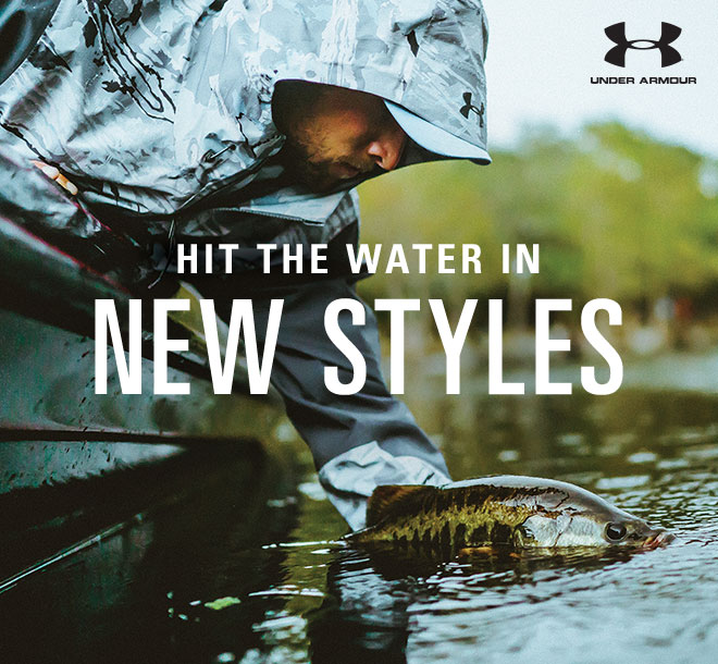 Hit The Water in New Styles | Image from Under Armour Fishing
