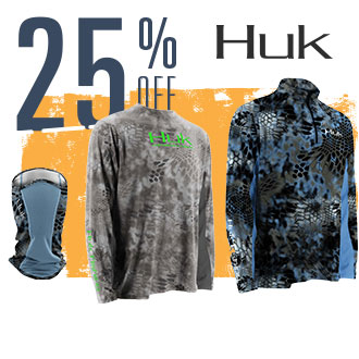 25% Off Huk, Image of Apparel and Gaiter