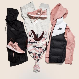 Athleisure apparel and footwear