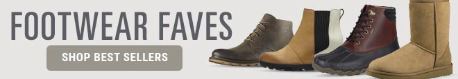 Footwear Faves from Sorel, Ugg, Sperry and more. Shop Best Sellers