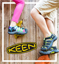 Children wearing KEEN sandals