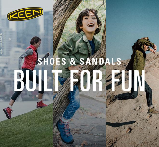 KEEN Shoes & Sandals Built for Fun
