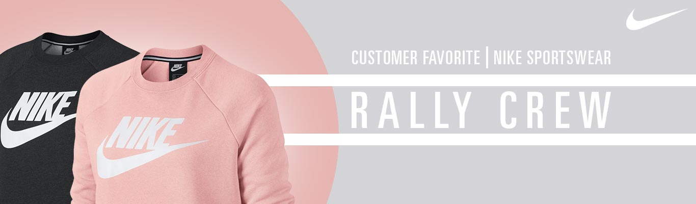 A customer Favorite Nike Sportswear Rally Crew