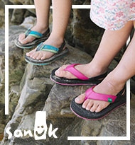Sanuk Youth Sandals