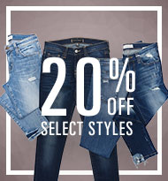 20% Off Select Styles