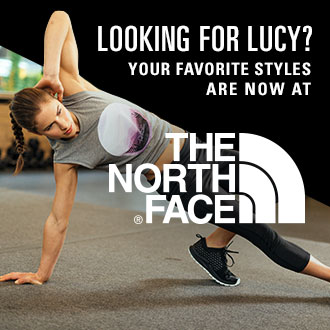 Looking for Lucy? Your favorite styles are now at The North Face